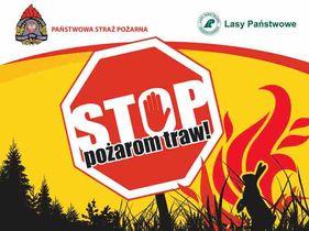 """Prezentacja ,,Stop pożarom traw""""_okładka"""