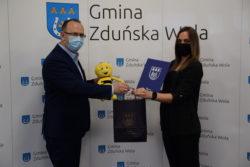 Wójt Gminy i Daria Kurzawa