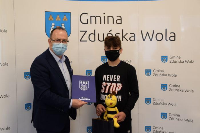 Wójt Gminy i Dariusz Leporowski