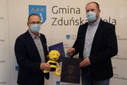 Wójt Gminy i Andrzej Suliński