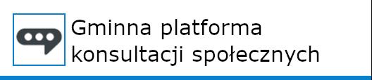 gminna platforma konsultacji społecznych